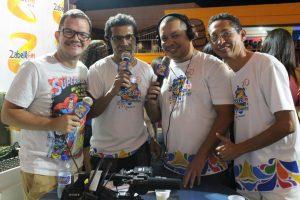 Zabelê - Alex Gonçalves, Valfredo de Marceno, Alessandro Paes Landim e Emerson Rodrigues. Integrantes da Zabelê FM