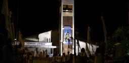 Terceira noite do novenário de Nossa Senhora do Rosário, padroeira de Remanso, Bahia, Brasil.