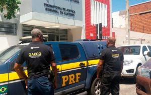 Operação Carro Fantasma em Juazeiro, no norte da Bahia (Foto: Divulgação/MP-BA)